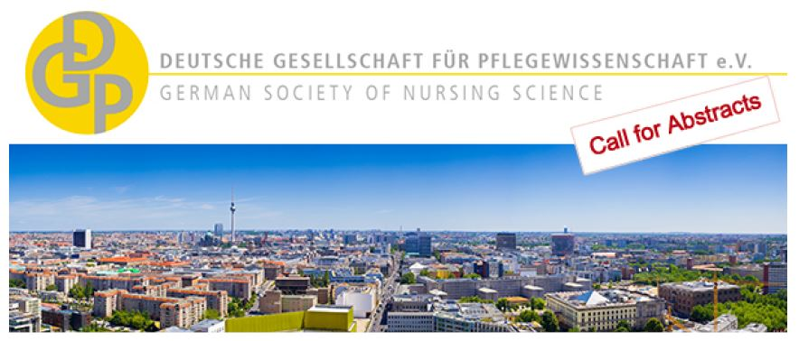 Call for Abstracts 2nd International Conference of the German Society of Nursing Science