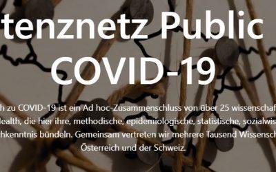 """Pflegewissenschaftliche Expertise für das """"Kompetenznetz Public Health COVID-19"""" gesucht"""