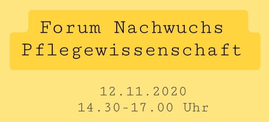 """Pressemitteilung: Sektion Nachwuchs Pflegewissenschaft veranstaltet 1. Forum zum Thema """"Studium – und dann?!"""""""